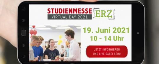 StudienmesseERZ – virtualDay 2021, am 19.06.2021
