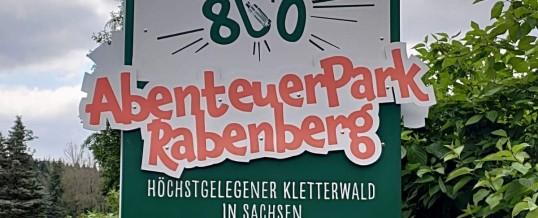 Klettern auf dem Rabenberg